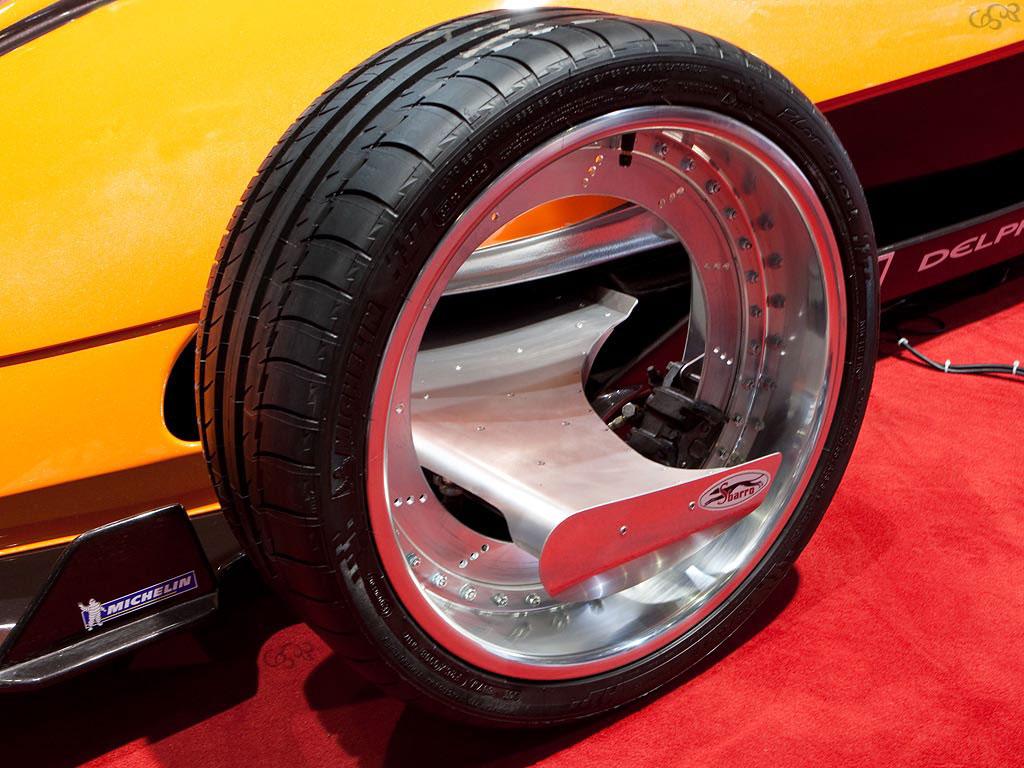 Michelin Pilot Sport >> Sbarro Orbital Hybrid, 2009