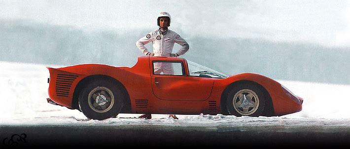Sbarro Ferrari P4 Replica 1986