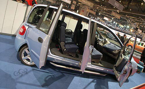 sbarro fiat multipla multidoors 2004. Black Bedroom Furniture Sets. Home Design Ideas