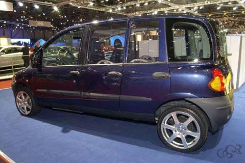 Sbarro Fiat Multipla Multidoors 2004